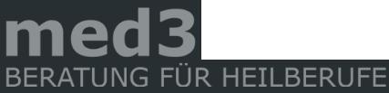 Logo | med3 - Beratung für Heilberufe e.K. in 55130 Mainz